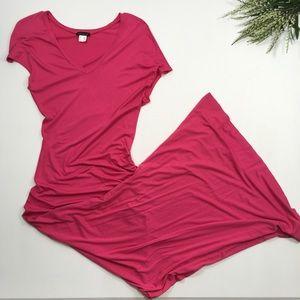 Venus | Pink Maxi Dress